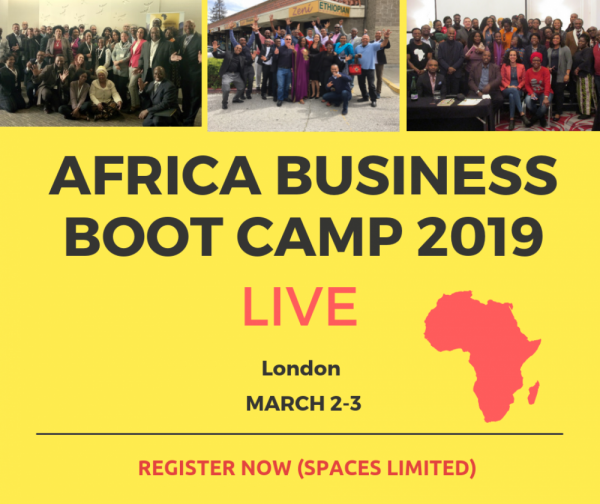AFRICA BUSINESS BOOT CAMP 2019