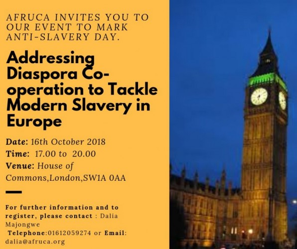 African Diaspora Co-operation Against Modern Slavery in Europe