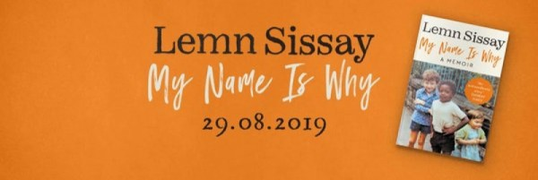 Lemn Sissay New Book 'My Name Is Why' OUT NOW