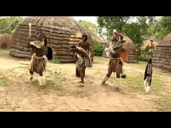 Zulu Girls show their Wedding Dance.